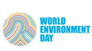 un world enviro day logo
