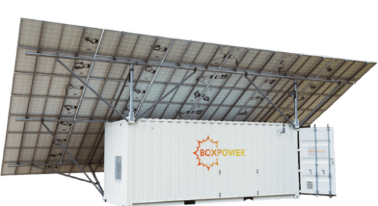 boxpower container transparent