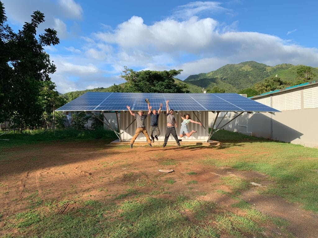 Rapidly Deployable Microgrids for Emergency Response in Puerto Rico